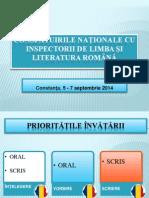 CONSF¦TUIRILE NA¦IONALE CU INSPECTORII DE LIMBA +I