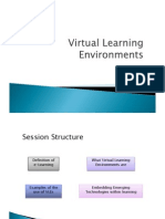 Virtual Learing Environments
