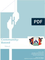 Community-Based Finance Manual - Final Draft 8.18.14