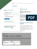 Outlook y Facebook