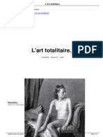 L'art totalitaire
