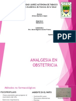 Analgesia en Obstetricia