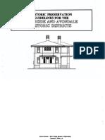 Historic Preservation Guidelines for Riverside Avondale