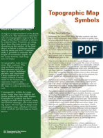 Topo Map Symbols