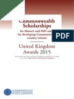 Prospectus Scholarships 2015