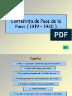 Confer in Ta de Pace Del a Paris