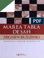 Zbigniew Brzezinski - Marea tabla de sah.pdf