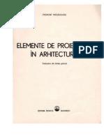 Elemente de Proiectare in Arhitectura Si Urbanism- Mieszkowsky