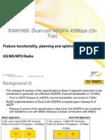 RAN1906 Dual-cell HSDPA 42Mbps