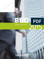 Montreal 2015 Full budget (French)