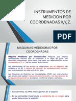 Instrumentos de Medicion Por Coordenadas x,y,z