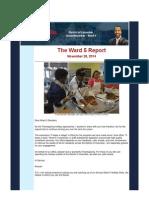 Ward 5 Newsletter
