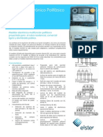 Medidor Eléctrico Polifásico Alpha AS1440 (ELSTER)