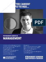 Management Postgraduate Guide