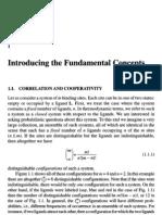 Cooperativity Regulation in Biochem Process