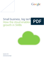 clound enables rapid growth - sept  2014