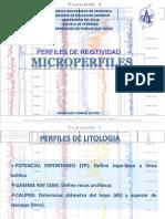 Registro de perfiles de pozo Microdispositivo