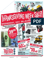 Seright's Ace Hardware Thanksgiving Week Sale