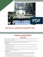 HISTORY Landscape