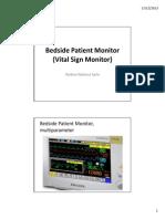 2. Pengenalan Alat Bedside Patient Monitor (Vital Sign Monitor)