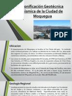 Zonificación Geotécnica Sísmica de La Ciudad de Moquegua