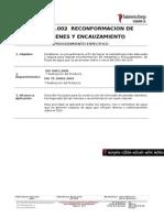 EC.01.PE.002 Reconformacion de Margenes y Encauzamiento