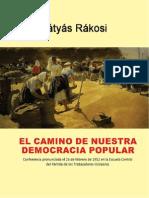 EL CAMINO DE NUESTRA DEMOCRACIA POPULAR