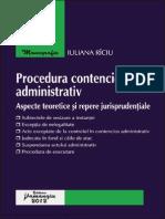 Procedura contenciosului administrativ – aspecte teoretice şi repere jurisprudenţiale.pdf