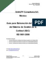Guía de Manual de SGC - Rev. 0 - Ene-10 (Ejemplo)