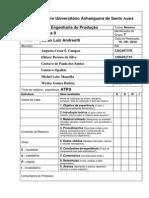 ATPS Fisica II - Parte I