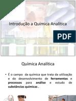 Aula-Introdução a Química Analítica