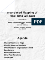 Web-Based Mapping of Real-Time GIS Data