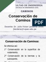 Conservacion de Los Caminos