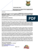 Especificaciones Técnicas Alcantarillado Pluvial Villas Del Colegio