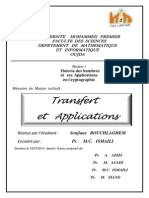 Transfert Et Applications