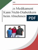 Diabetes Medikament Kann Nicht-Diabetikern Beim Abnehmen Helfen