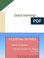 ACCTBA1 Adjusting Entries