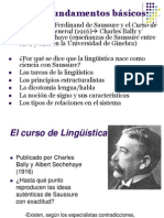 Fundamentos Basicos. Teorias Lingueisticas