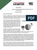 Ficha Técnica - El Impacto de Las Minas Antipersonal y Los Remanentes Explosivos de Guerra Sobre Los Menores de Edad