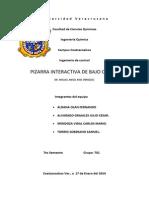 PROYECTO de CONTROL (Pizarra Electrónica Interactiva)