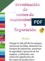 Determinacion de Costos Del Mantenimiento y Reparacion[1]