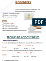 Ppt Acidos y Bases