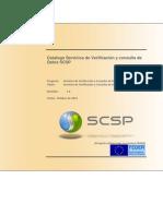 Catalogo Servicios de Verificacion y Consulta de Datos SCSP