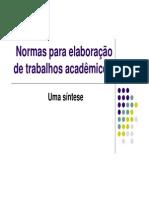 23 Elaboração de Trab. Acadêmicos