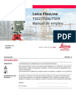 FlexLine UserManual Es(Corto)