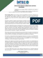 Norma ISO 18091. La Calidad en Los Gobiernos Locales