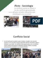 Conflicto - Sociologia