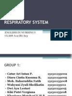 1 Respiratory System