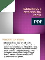 Patogenesis & Patofisiologi Edema