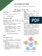 Aplicaciones con VHDL